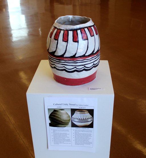 Cultural Unity Vessels: Student Ceramic Creations in Taft