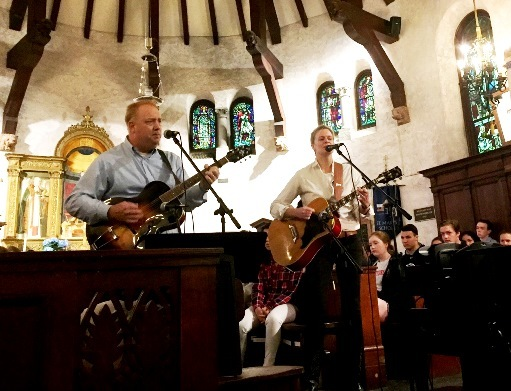 Old Horse - the Eslicks Perform at Morning Chapel