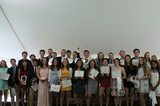 Athletic Awards: Spring Season and Year's Achievements