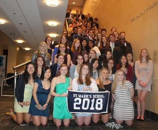 "VI Form ""100-Days Dinner"" Honors Class of 2018"