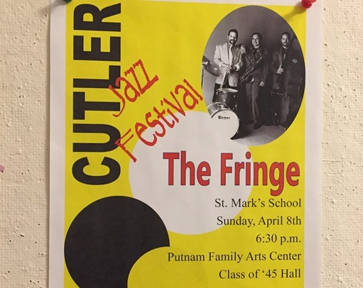 Cutler Jazz Festival Features The Fringe This Sunday Evening