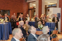 Farewells, Chapel, Reception Highlight Trustee Weekend