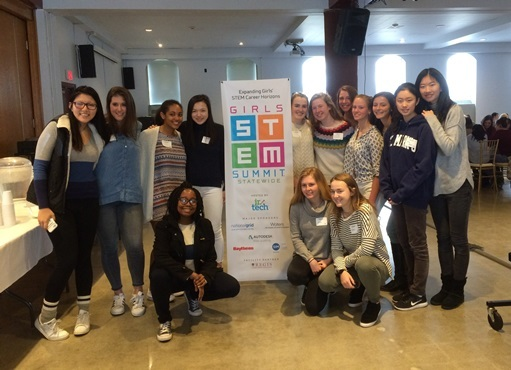 Fourteen St. Markers Attend Girls STEM Summit
