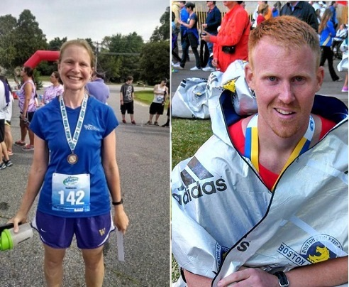 Two from SM Admission Office Running in Marathons