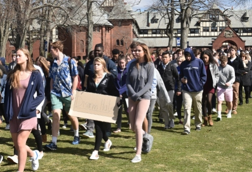 St. Markers Join in National Student Walkout