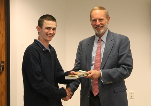 Colin Capenito '19 Wins Shen Prize for History Speech