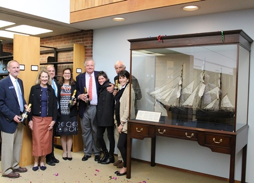 "Clipper Ship  ""Southern Cross"" Finds Home in SM Library"