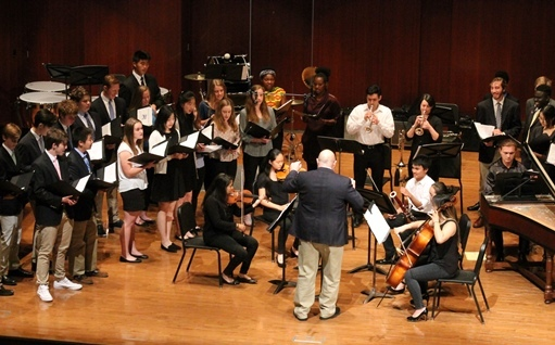 Year End Concert Honors VI Form Musicians