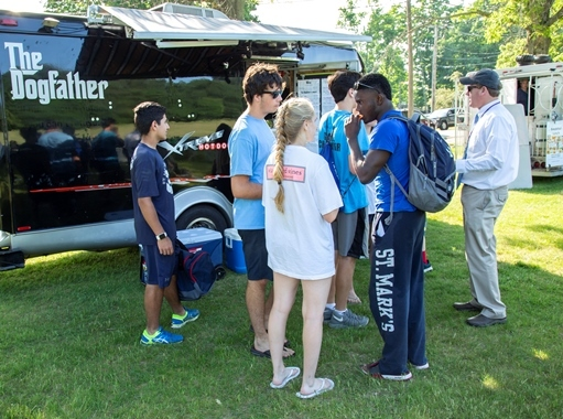 SM and Southborough Rotary Team Up for Food Trucks