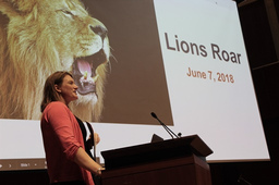 Lions Roar Ceremony Closes Successful Lion Term