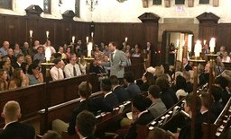 Traditional Baccalaureate Service Highlights Prize Day Eve