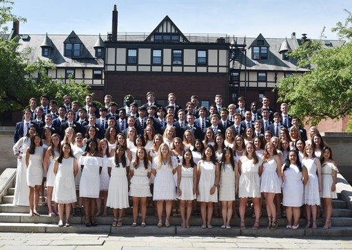 95 Graduate at 153 rd St. Mark's Prize Day Ceremony