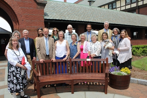 St. Mark's Bench Dedicated in Memory of Ellen Collins
