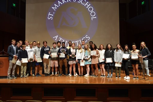 Athletic Awards Highlight Fall Sports Season