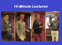 15-Minute Lectures Feature Grant Recipient Presentations