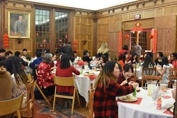 Festival Dinner, Chapel Service Celebrates Lunar New Year
