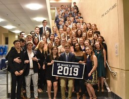 "VI Form ""100 Days Dinner"" Honors Class of 2019"
