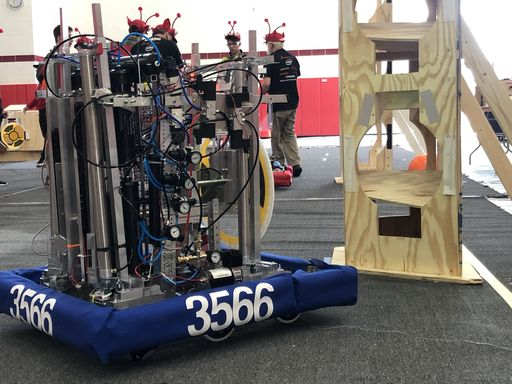 Robotics Team Wins Automation Award