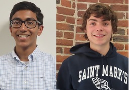 Two St. Markers Named National Merit Finalists