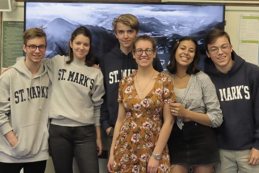 Six German Exchange Students Spend 18 Days on Campus