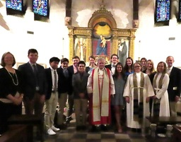 Confirmation Highlights Spring Sunday in Belmont Chapel