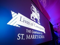 "St. Mark's Launches ""Lives of Consequence"" Campaign"