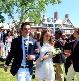 100 Graduate at 154th St. Mark's Prize Day Ceremony