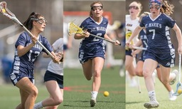 Three SM Girls' Lacrosse Players Earn All-American Honors