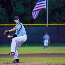 Wyatt Scotti '20 Pitches in Sr. Babe Ruth World Series