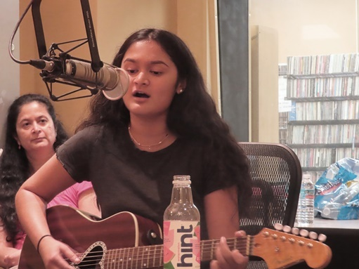 St. Mark's Student Makes Radio Debut with Original Songs