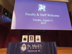 Opening Gathering Honors 20-Year Faculty and Staff