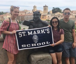 Global Experiences Highlight Summer for St. Markers