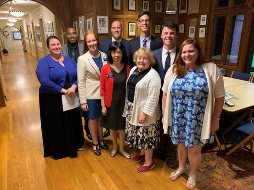 Installation of New Faculty Welcomes Eight to St. Mark's