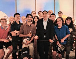 SM New Hampshire Primary Club Meets Andrew Yang