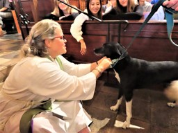 "Chapel Service Celebrates Annual ""Blessing of the Animals"""