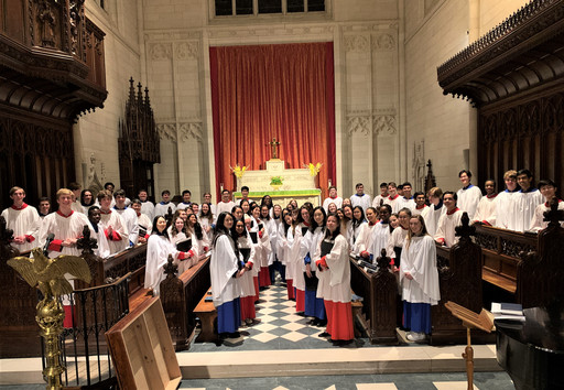 St. Mark's, Groton Choirs Together for Evensong Service