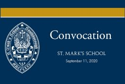 Convocation Ceremony Opens New School Year