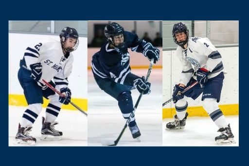 NHL, Yale Come Calling for SM Hockey Players