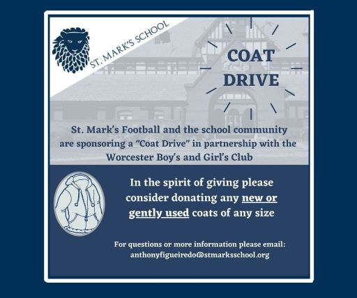 SM Football Sponsors Coat Drive for Boys and Girls Club