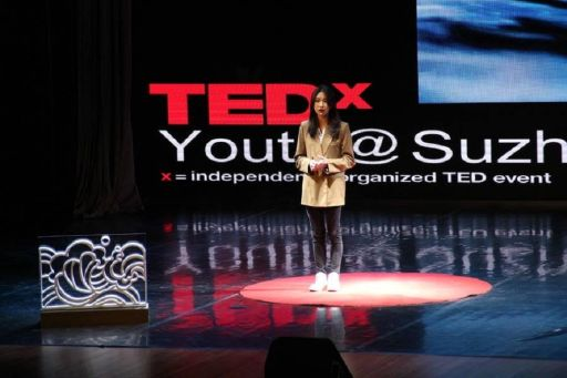 Remote St. Markers: Sunny Li '22 Gives TEDx Talk in China
